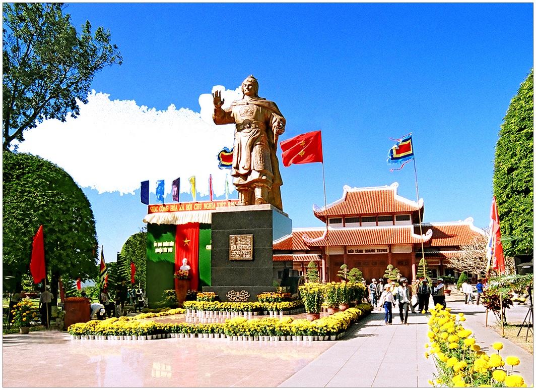 Kết quả hình ảnh cho Bảo Tàng Quang Trung – Đền thờ Tây Sơn Tam Kiệt